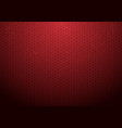 abstract red hexagon pattern background with vector image vector image