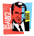 actor cary grant vector image vector image