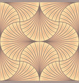 art nouveau tile vector image