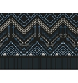 ethnic seamless tribal boho pattern vector image vector image