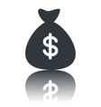 Money bag icon vector image