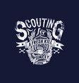 scouting for a fresh kill vector image vector image