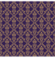 Seamless Damask Wallpaper 1 Purple Color vector image vector image