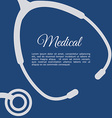 stethoscope design vector image vector image