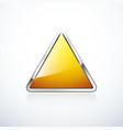 triangle 1 orange vector image