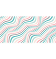 abstract classic wave or wavy stripes pastel vector image vector image