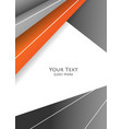 bright modern frame vector image vector image