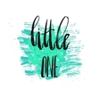 Dream big little one - kids nursery art vector image vector image