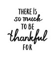 hand drawn thanksgiving lettering typography vector image vector image