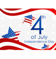 Independence day 4th july festive banner