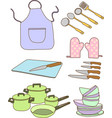 Kitchen Tools vector image vector image