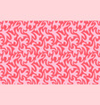 pink seamless pattern with stylized dancing people vector image