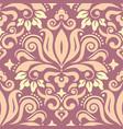 royal damask wallpaper fabric print pattern vector image