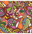 seamless abstract colored pattern vector image
