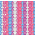 small flower pattern vector image vector image