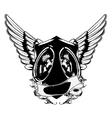 speaker emblem vector image vector image