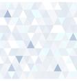 Triangular shape shimmering seamless pattern vector image