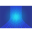 abstract blue line flow data light motion vector image vector image