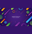 abstract trendy gradient background vector image vector image