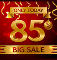 big sale eighty five percent for discount vector image vector image