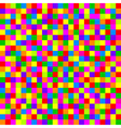 colorful checkered pattern vector image vector image