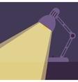 Desk lamp light icon vector image vector image