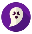 Ghost Circle Icon vector image vector image