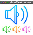 sound symbol icon design vector image