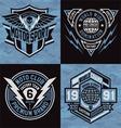 Sports emblem graphics