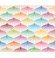 abstract seamless pattern floral oriental vector image vector image