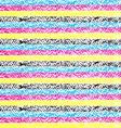 CMYK pastel crayon striped background vector image vector image