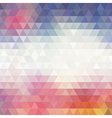 Colorful Geometric Background for your design vector image vector image