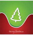 festive christmas background vector image