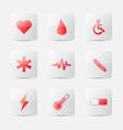 Medical icon vector image vector image