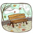 park background vector image vector image