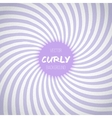 Passion Lavender Color Spiral Swirl Background vector image vector image