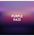 square blurred lilac background - sunset colors vector image vector image