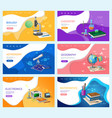 astronomy and chemistry biology and mathematics vector image vector image