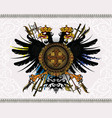 eagle coat arms vector image vector image