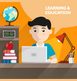 learning and education vector image