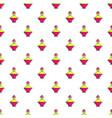 perfume of the princess pattern seamless vector image vector image