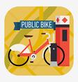 Public Bike Icon vector image