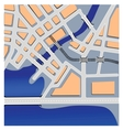 urban maps vector image