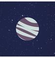 Abstract Cartoon planet vector image vector image