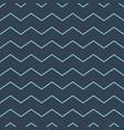 abstract zig zag lines seamless pattern dark green vector image vector image