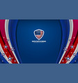 america color background vector image vector image