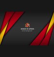 made in spain modern background