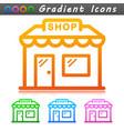 shop symbol icon design vector image