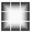 spot blackout vector image vector image