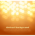 Abstract Festive Background with Bokeh vector image vector image